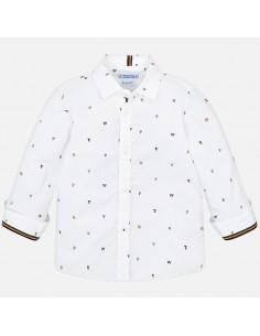 Koszula d/r we wzory