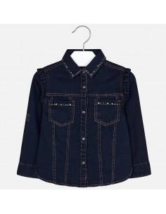 Bluzka jeans strass