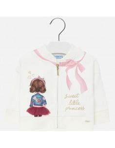 Bluza kokardka dziewczynka