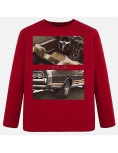 Koszulka d/r w samochody