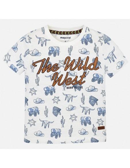 Koszulka k/r we wzory
