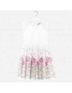 Sukienka plumeti kwiaty