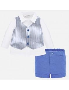Komplet spodnie koszula
