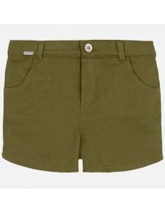 Spodnie krótkie plusz
