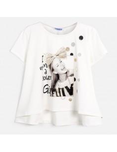 Koszulka k/r dziewczynka foto
