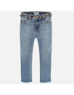 Spodnie długie jeans fantazja