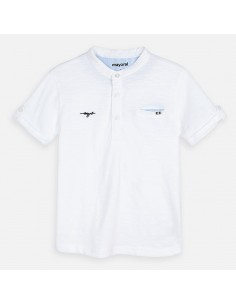 Koszulka k/r stójka