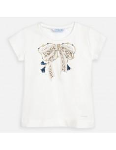 Koszulka k/r z kokardką