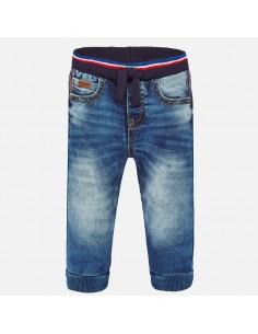 Spodnie jeans jogger soft