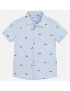 Koszula k/r żakard