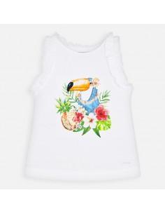 Koszulka na ramiączkach tukan