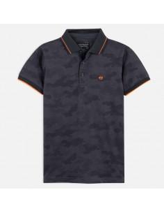 Koszulka polo k/r over print