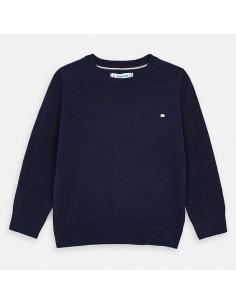 Sweter z lamówką