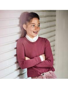 Sweter łączony