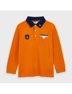 Koszulka polo d/r gładka deta