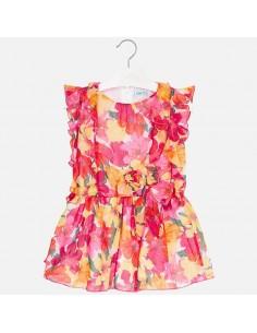 Sukienka nadruk