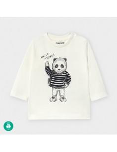 Koszulka d/r panda