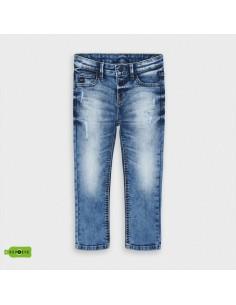 Spodnie jeans przetarcia