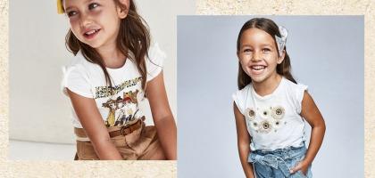 Białe bluzki dla dziewczynek to świetna opcja na wiele okazji!